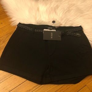 NWT black summer shorts